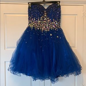 Jovani homecoming dress size 2
